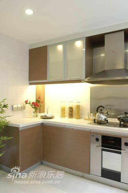 简约 二居 厨房图片来自用户2737735823在6万装120平简约富贵家45的分享