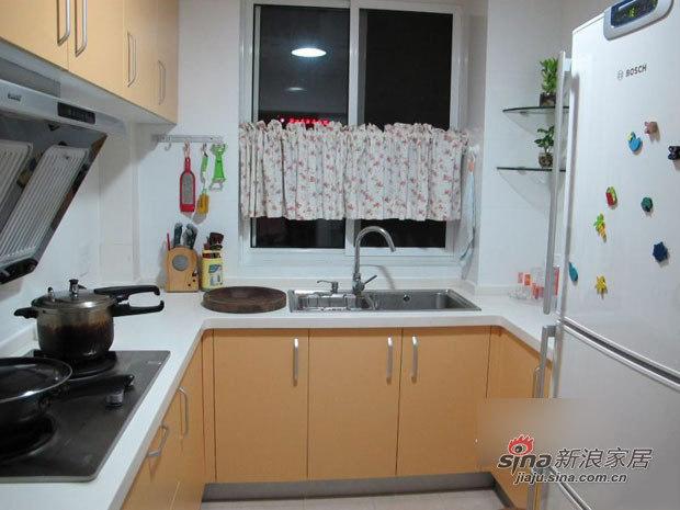 田园 二居 厨房图片来自用户2557006183在装修菜鸟4万打造90平田园小窝44的分享