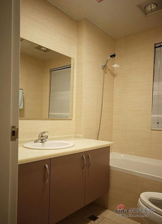 简约 二居 卫生间图片来自用户2737735823在4.8万装83平清新简约2居室81的分享
