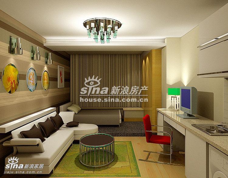 简约 别墅 卧室图片来自用户2737786973在荣京丽都样板间展示89的分享