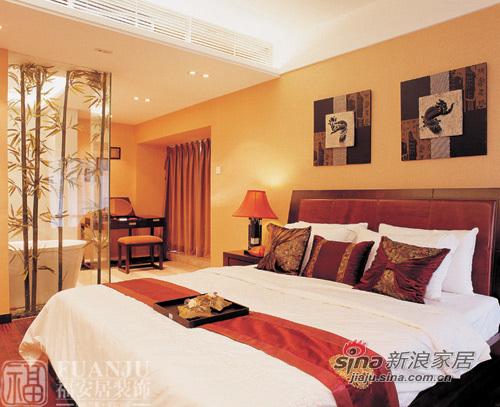 中式 二居 卧室图片来自用户1907658205在富丽堂皇两居中式风格87的分享