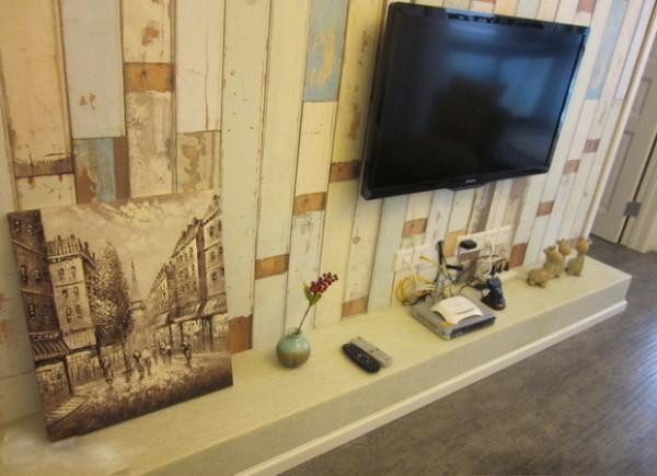 特写电视背景墙