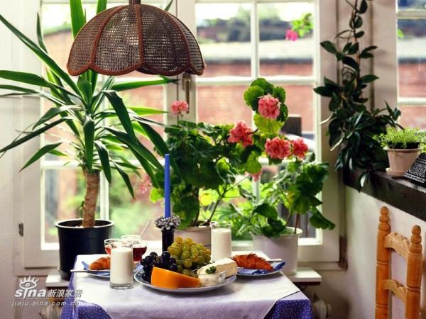 欧式 其他 餐厅图片来自用户2746948411在田园风格新时尚 家居的自然清新原色(一)72的分享