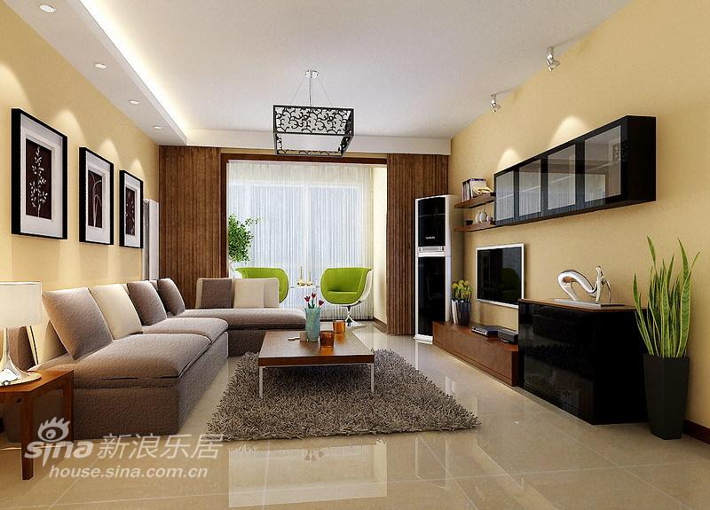 简约 二居 客厅图片来自用户2738813661在简约风格-100平两居31的分享