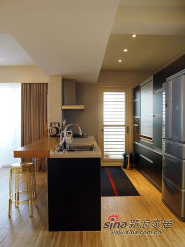 美式 二居 厨房图片来自用户1907686233在打造简约美式100平79的分享