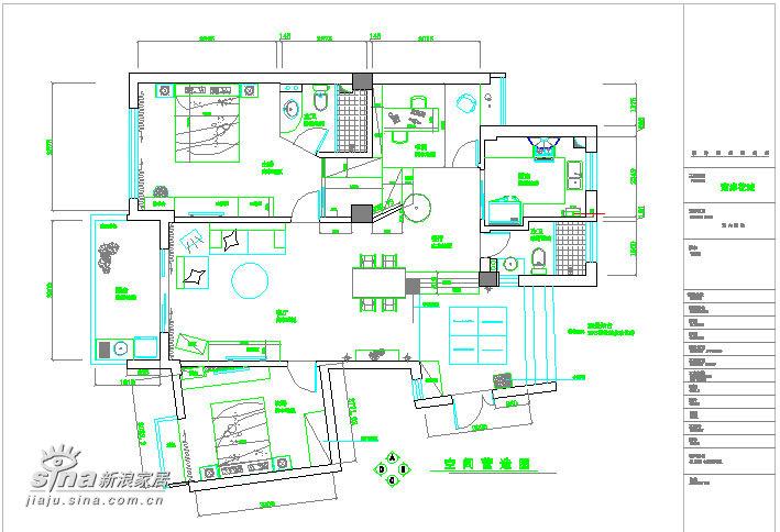 简约 三居 户型图图片来自用户2739378857在艺术空间--实景案例88的分享