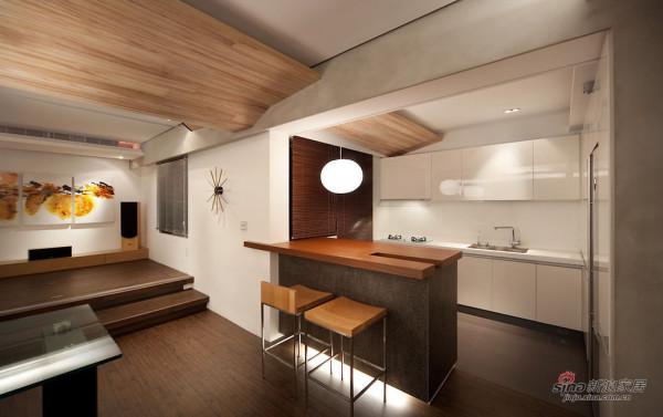 开放式厨房能凝聚家人的亲密感
