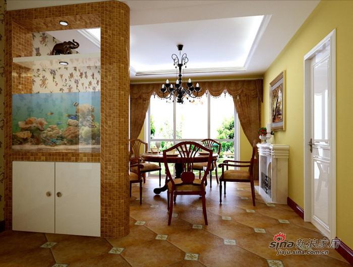 欧式 复式 客厅图片来自用户2772856065在8万简欧中式结合151平复式46的分享