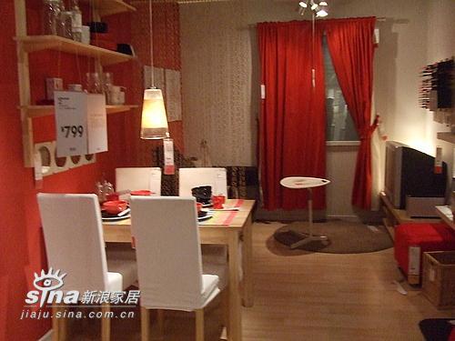 简约 一居 餐厅图片来自用户2558728947在成都宜家样板间79的分享