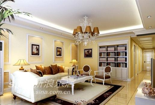 欧式 三居 客厅图片来自用户2772856065在简洁轻快的欧式经典风格71的分享
