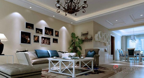 """""""老房装修""""148平米三居室欧式设计风格"""