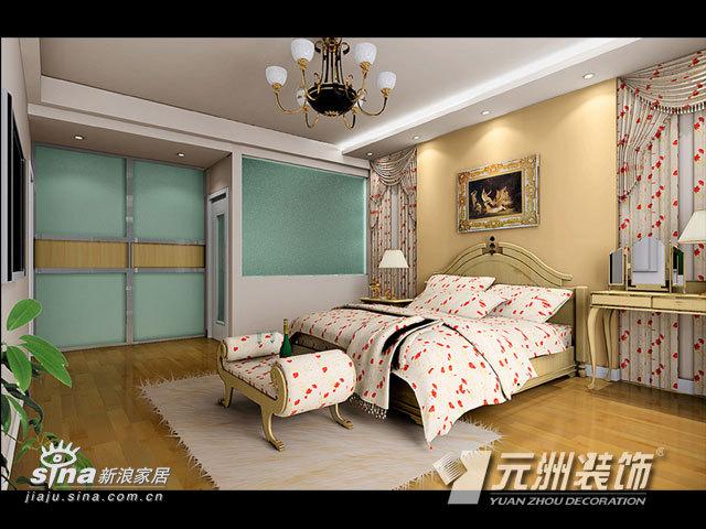 简约 三居 卧室图片来自用户2739081033在金海国际44的分享