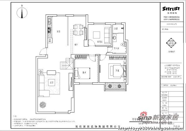 欧式 三居 其他图片来自用户2772856065在10万整体装修150平米简欧老房78的分享