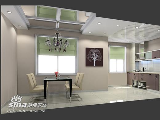 简约 二居 餐厅图片来自用户2745807237在望京新城简约设计58的分享