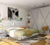 现代浪漫卧房