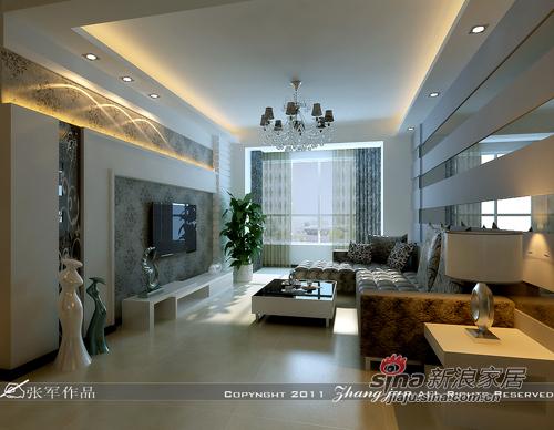 简约 二居 客厅图片来自用户2556216825在水木城典26的分享