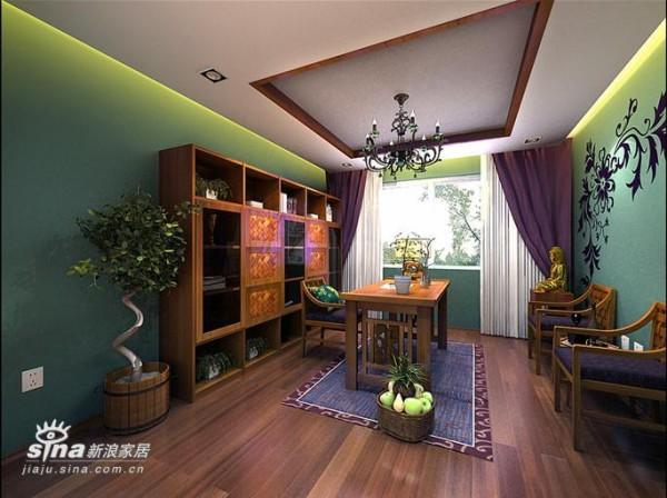 其他 四居 书房图片来自用户2558757937在和谐家园60的分享