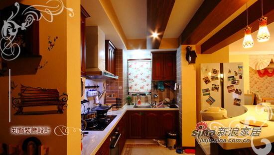 混搭 二居 厨房图片来自用户1907691673在72坪美式田园混搭风小居室64的分享