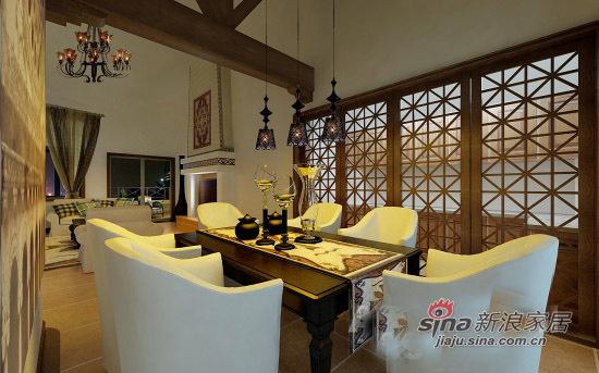 简约 三居 餐厅图片来自用户2738845145在100平三口甜蜜之家花11万19的分享