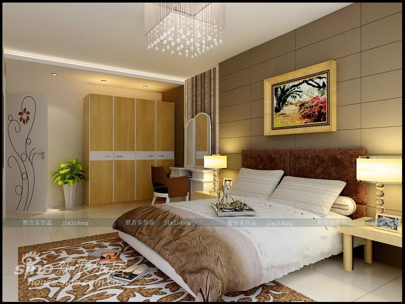 简约 二居 卧室图片来自用户2557010253在旧房翻新:时尚前卫小两居98的分享