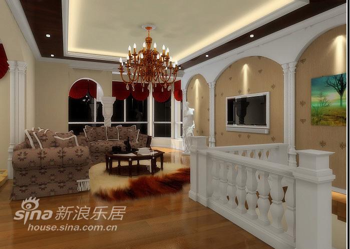 欧式 三居 客厅图片来自用户2557013183在欧式风格三居92的分享