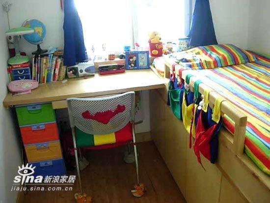 简约 一居 儿童房图片来自用户2557979841在38平米小家实用主义风格29的分享