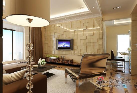 简约 二居 客厅图片来自用户2738820801在简约86平2居华庭55的分享