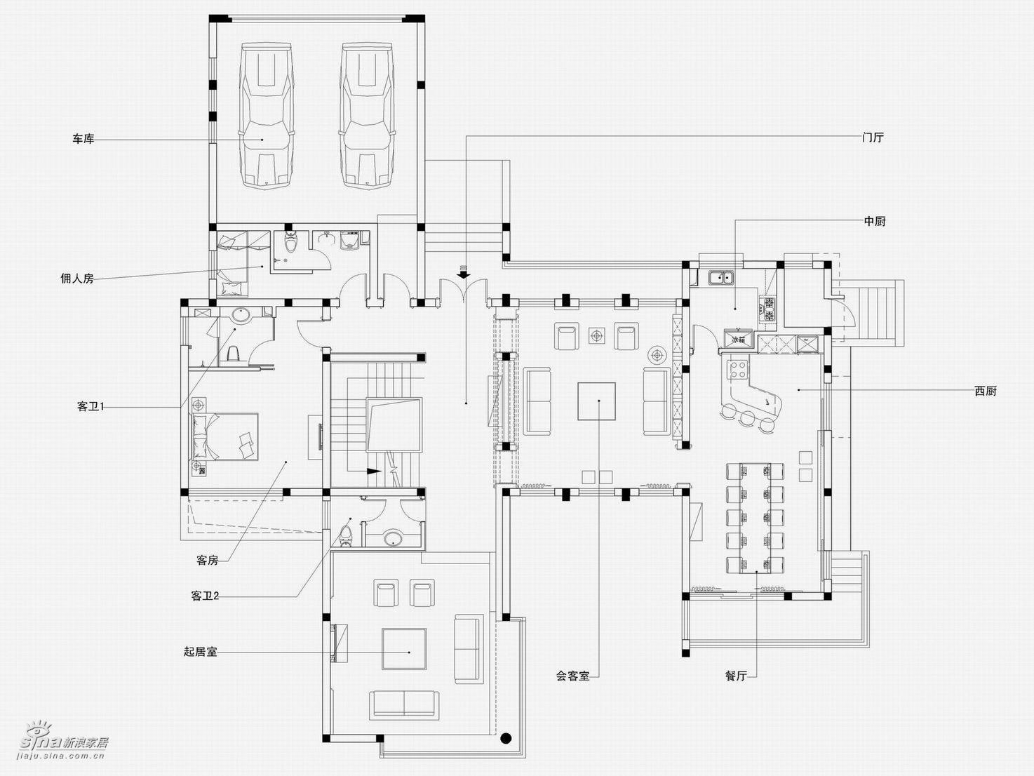 简约 别墅 户型图图片来自用户2738820801在真正的豪宅江南华府(下)99的分享