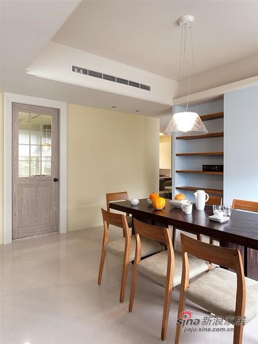 简约 二居 餐厅图片来自用户2737735823在5.7万二次改造102平经典简约2居室39的分享