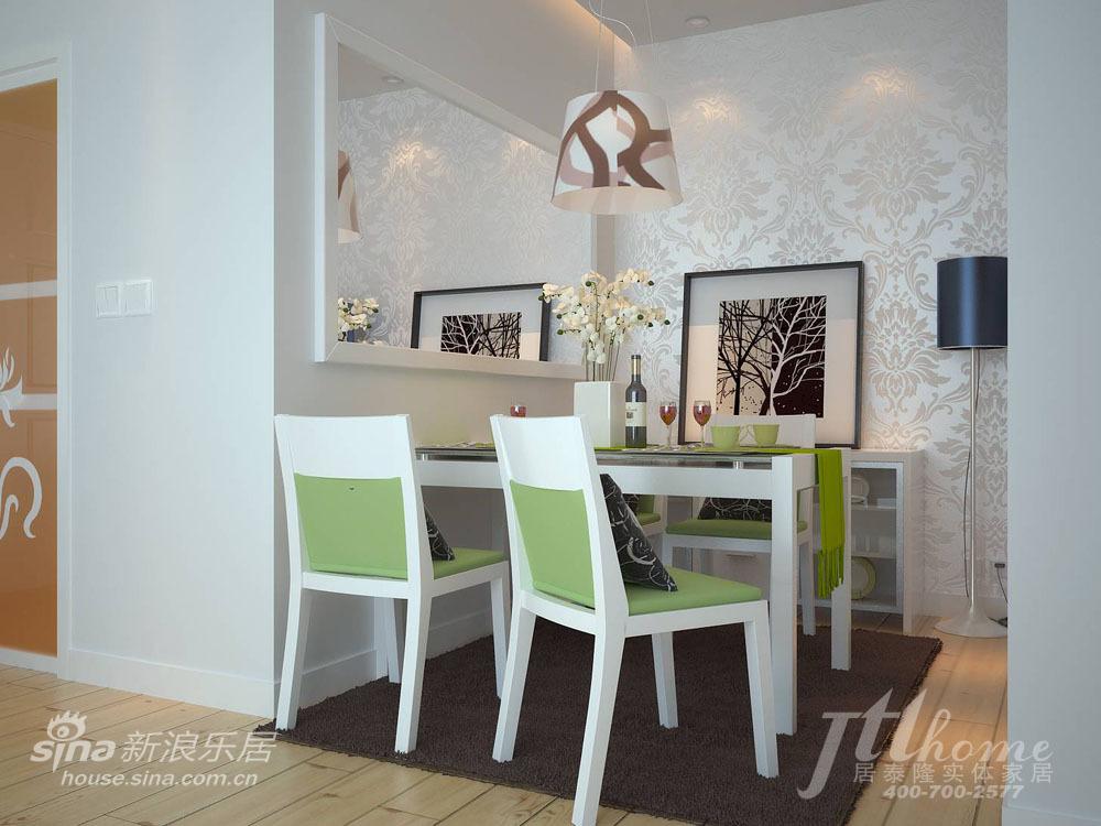 简约 三居 餐厅图片来自用户2557979841在恬静淡雅的家居装饰风格40的分享
