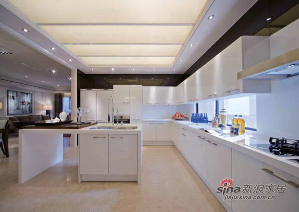 简约 三居 厨房图片来自用户2559456651在7万装180平现代简约家69的分享