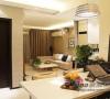 工作间,和客厅相连,使整个空间更觉宽敞。