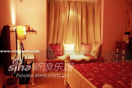 田园 别墅 卧室图片来自用户2737791853在经纬绿地95的分享