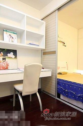 简约 二居 儿童房图片来自用户2557979841在清新范儿8万搞定90平两居室83的分享