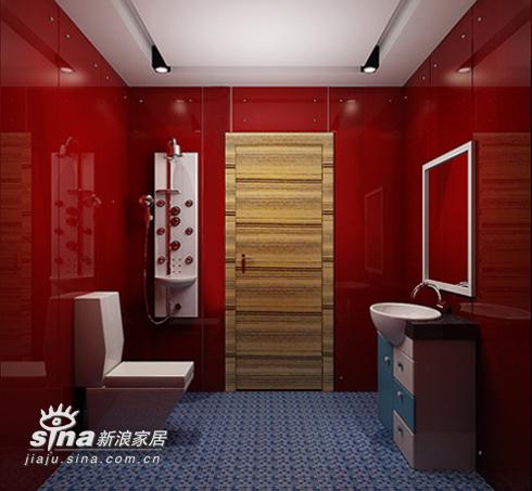 欧式 三居 卫生间图片来自用户2746948411在蓝色浪漫——地中海风格14的分享