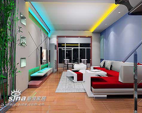 简约 复式 客厅图片来自用户2737786973在绿苑小区16号楼方案55的分享