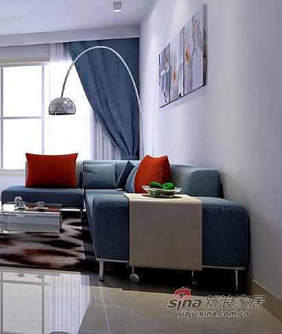 简约 三居 客厅图片来自用户2739153147在淡淡味道130平蜜意3居婚房51的分享