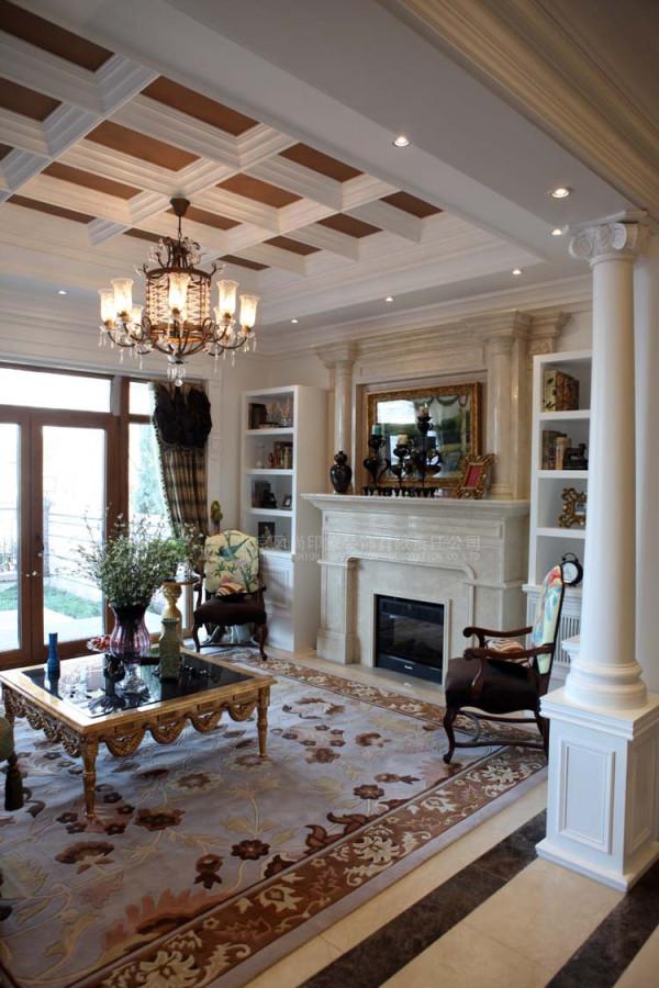 风尚设计美式奢华联排别墅样板间