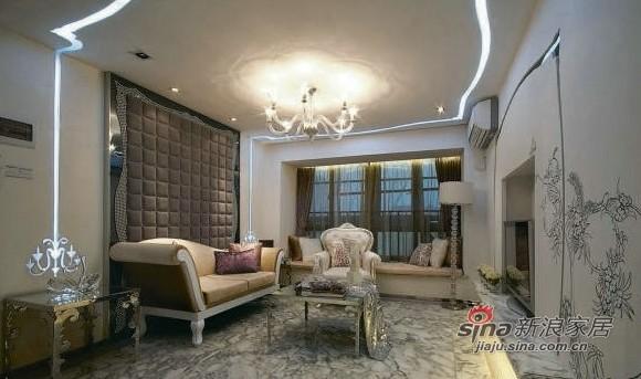 新古典 别墅 客厅图片来自用户1907664341在25万豪装170平现代古典别墅60的分享