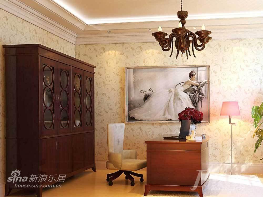 地中海 三居 书房图片来自用户2757320995在欧式奢华风!我的180平婚房68的分享