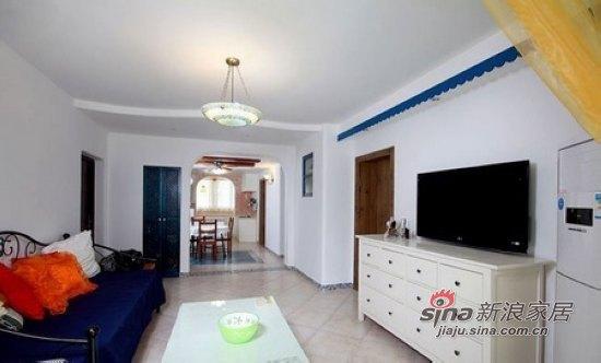 地中海 二居 客厅图片来自用户2757320995在4.8万元房奴超省钱装75平2室1厅24的分享