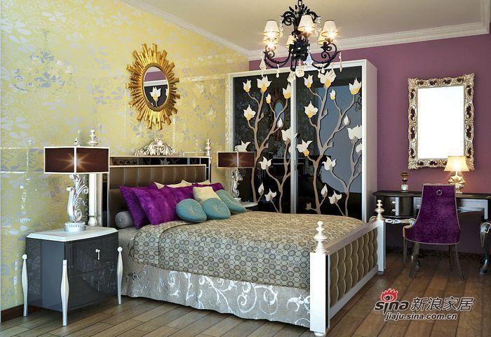 欧式 二居 儿童房图片来自用户2772873991在4.9万打造70平两居室的唯美欧式家居~~56的分享