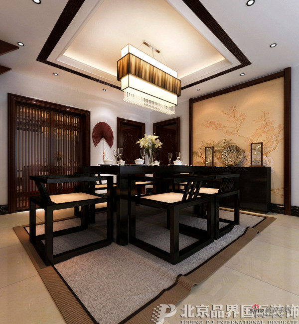 【高清】180平-中式古典风格