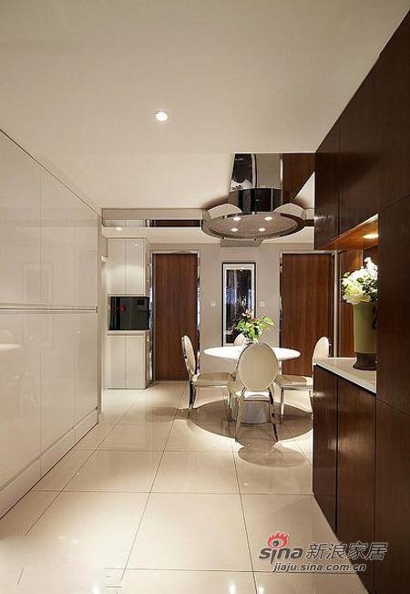 现代 三居 餐厅图片来自佰辰生活装饰在9万打造110平质感元素三居室36的分享