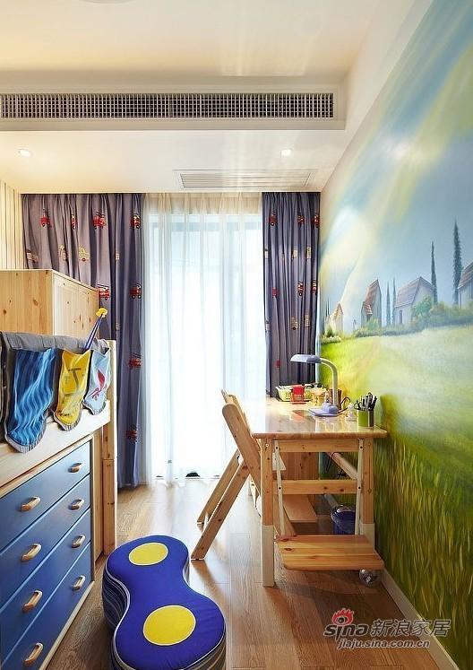 简约 三居 儿童房图片来自用户2737759857在160平方俏皮有爱大宅20的分享