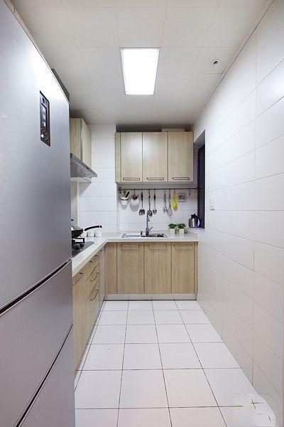 简约 二居 厨房图片来自用户2738845145在5.5万打造现代温馨舒适两居室81的分享