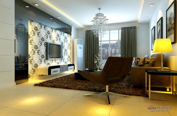 110平现代简约两居室