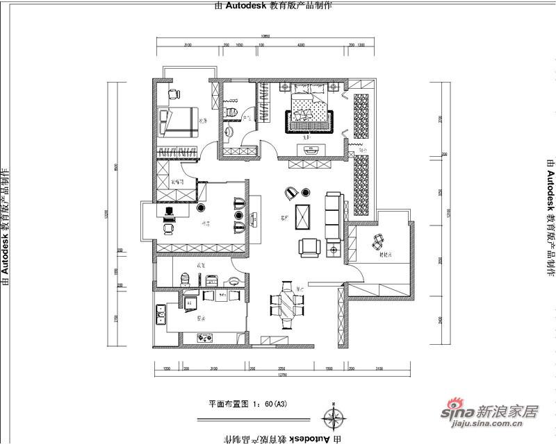中式 四居 其他图片来自用户1907661335在10万巧装160平四居室中式大气风格68的分享