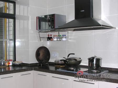 简约 三居 厨房图片来自用户2739081033在120平中式风格家仅花7万元81的分享