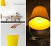 大黄桶反过来就是一个暖色系灯罩喽